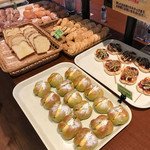 ブーランコ - 選べるパン一例
