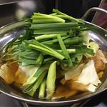 焼鳥 和 - 料理写真:もつ鍋