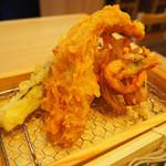 中村麺兵衛 - 上天ぷらそば
