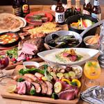 Meat Camp - ミートプラッターとオマール海老のグランピングコース