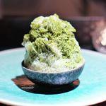 カゲロウ - 抹茶のかき氷
