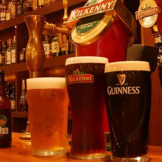 世界のビールが味わえるビールフェアを定期的に開催中♪