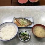 伊勢屋食堂 - さば味噌煮定食('17/09/28)