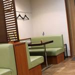うなぎ 魚政 - テーブル席