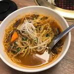 一心亭 - 選べる麺付き焼肉ランチのラーメン