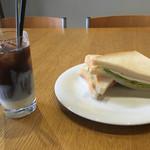 シエナ - 朝からあま〜ぃコーヒーと、サンドウィッチ