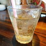 ノムカ+cafe - ◆セットドリンクは「ジンジャーエール」を。