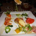 ビストロ・ダルブル - 前菜の盛り合わせ