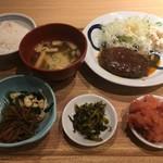 博多ふくいち - 煮込みハンバーグ定食