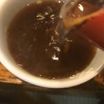 うずら家 - 【2017.9.21】蕎麦湯。