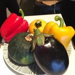 アネッソ・やまか - 新鮮な旬の野菜を信州から直接仕入れています。