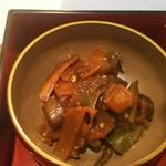 アンシャーリー - 茄子味噌炒め 日替わり