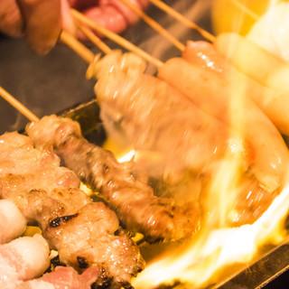 料理は手作り、注文が入ってから焼き上げます!
