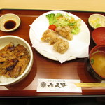 き久好 - 小豚丼・ザンギセット