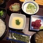 やえす初藤 - 納豆定食 650円