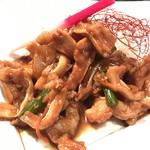 鉄板焼と和食 宴 - 豚ナンコツのスタミナ焼(9・10月のお勧め)