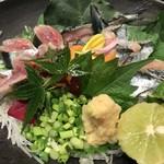 鉄板焼と和食 宴 - 新さんま御造里(11月のお勧め)