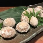 鉄板焼と和食 宴 - 新銀杏塩煎り(11月のお勧め)