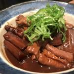 鉄板焼と和食 宴 - 八丁味噌土手煮(11月のおばんざい)