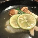 鉄板焼と和食 宴 - 松茸と鱧の御吸物(9・10月のお勧め)