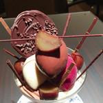 ショコラティエ パレ ド オール - 上から見るとこんな感じ! デザイン性が高く、オシャレ!