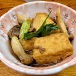 ウエダ - 厚揚げとエリンギの煮物