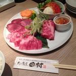 肉の割烹 田村 - ランチ(牛タン・カルビ・ロース)