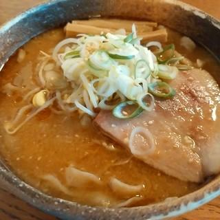 拉麺酒房 熊人 - 料理写真:味噌拉麺
