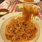 SACCO - ボロネーゼススパゲッティ1,200円。