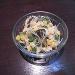 HUNZA - セットのサラダ