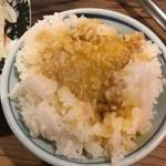 地どり庵 三蔵 - 卵かけご飯
