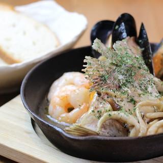 【3,500円コース】多彩な和洋ビストロ料理<全6品>