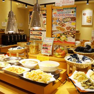 美味しさと健康にこだわった自然食ビュッフェレストラン♪