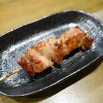 炭火串焼 ゆう - 豚レバー ¥100