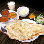 三色カレー(3types of Curry)