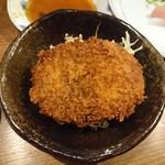 徳田酒店 - かぼちゃコロッケ