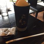 珈琲屋らんぷ   - ドリンク写真:コーヒーフロート&おまけ