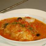 ローリエ - 若鶏のチリンドロンソース煮 スペイン風