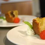 ローリエ - 食後のミニデザート