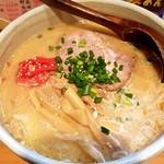みそ膳 - みそとんこつらーめん740円+大盛100円