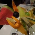 果実園 - フルーツパフェ