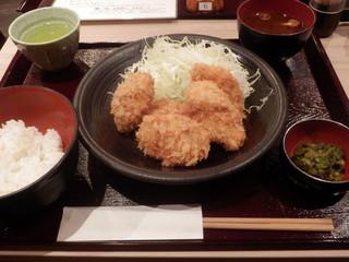とんかつ武蔵野 - ヒレかつ定食