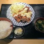 伊佐木商店 - 唐揚げ定食