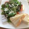 オープンカフェ - 料理写真:モリモリやまなしトースト