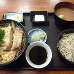 角清 - '17/09/28 かつ丼(税込1,000円)
