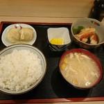松亭 - 金目鯛煮付け定食