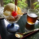 無心庵 - バニラアイスクリーム