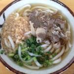 元祖 山海うどん - 料理写真:肉うどん