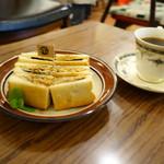 トヨクニ・コーヒー - サンドイッチ