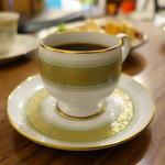 トヨクニ・コーヒー - アンティークのコーヒーカップ!